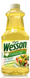 "Wesson marks its oils as ""all natural"". I think what they meant is ""all GMO"". Just a typo, I'm sure..."