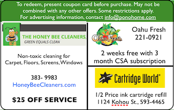 split card Pono Home Coupons